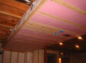 insulation in a basement doesn't require too many fiberglass woes.