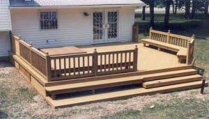 decking designs are not hard to come by