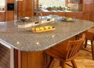 new countertops acan include quartz, like this beautiful counter.