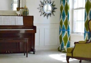 adding wainscoting to a room design can look great