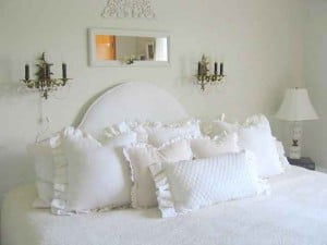 it's not that difficult to make a slipcover for your headboard if you can follow these simple rules.