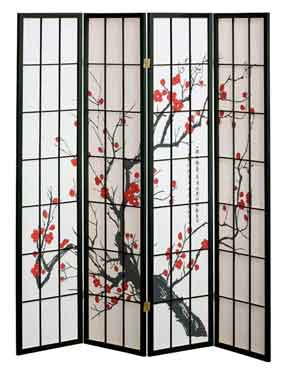 room dividers work wonders for smaller rooms as well as for larger rooms that need an extra touch. Or privacy!