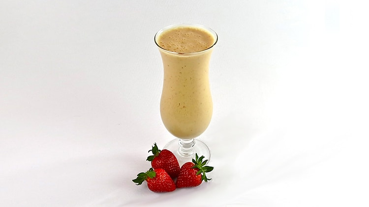 Frosty Fruit and Wheat Germ Smoothie